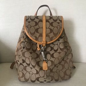 Coach purse backpack style